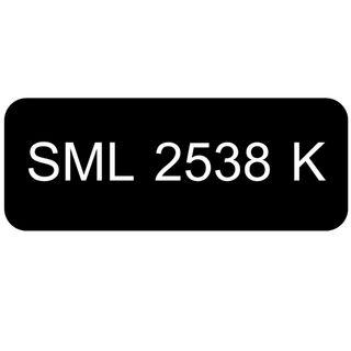 Car Number Plate for Sale: SML 2538 K