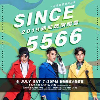 🚚 [Discount] Cat 1 Tickets for 5566 Concert