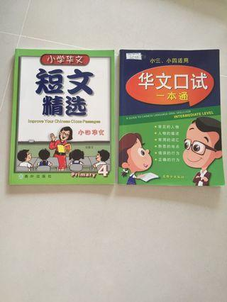P3 P4 Chinese Assessment Books Cloze Passage Oral