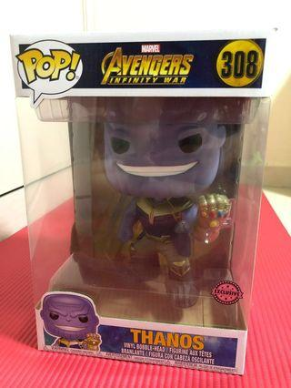 "Thanos Infinity War 10 inch / 10"" Funko Pop (Avengers, Marvel, DC, Thor, Spiderman, Ironman, Hulk, Superman, Batman, Wonder Woman, Captain America, Black Panther, Black Widow, Hawk Eye, Aquaman, Catwoman, Joker, Harley Quinn)"