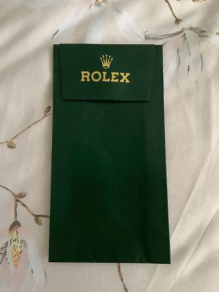 **VERY RARE** Vintage Rolex Service Travel Pouch Holder #EndgameYourExcess