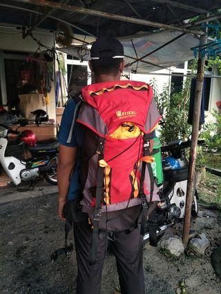 Bag Hiking Backpack Vertikal