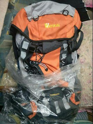 Beg Hiking Backpack Vertikal Original