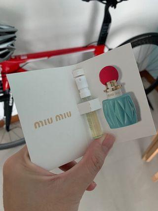 Miu miu edp (sample size)