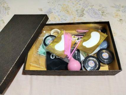 Set paket alat eyelash extension - sambung bulu mata