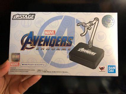 全新 S.H.Figuarts SHF 魂Stage Marvel 加 Avenger Endgame(Iron man 可用 Ironman)