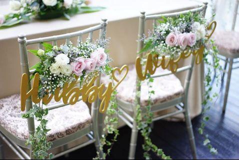 WEDDING SOLEMNISATION DECOR PACKAGE / FRESH FLOWERS OUTDOOR INDOOR VENUE DECORATIONS / BRIDAL BOUQUET / WEDDING TABLE CENTREPIECE