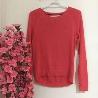 Pink Tommy Hilfiger long sleeve