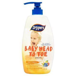 🚚 Drypers Fruit Complex Baby Head To Toe 750ml