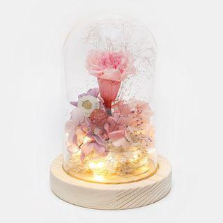 🚚 Mother's Day Preserved Flower Dome with LED