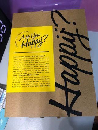 Arashi 嵐 are you happy 初回 日版