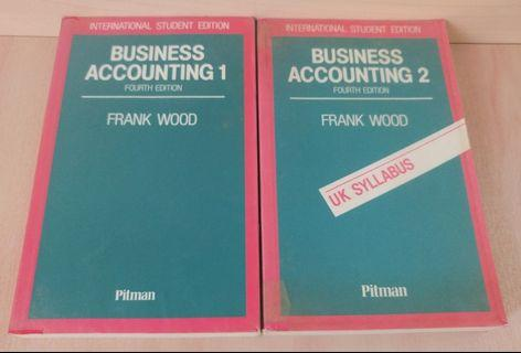 Cost and accounting books