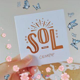 ✨Colourpop Sol Palette✨