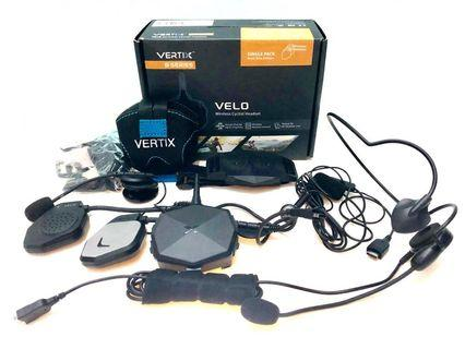 Vertix Velo Communication Set, Sena,  Bluetooth, Motorbike, Motorcycle, Bicycle, Ebike, Escooter, DYU, Fiido, Fildo, Dualtron, MTB, Mountain Bike, Sports, Bike, Speedway, Segway, Xiaomi, BELL  Helmet, Grab, Food Panda, walkie talkie, comm set, Bluetooth.