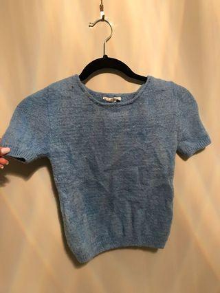 Garage fuzzy T-shirt
