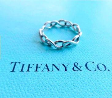 Authentic tiffany&co infinity ring