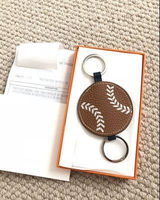 Hermes baseball keyholder