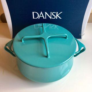 Dansk琺瑯雙耳煲(蔚藍色)