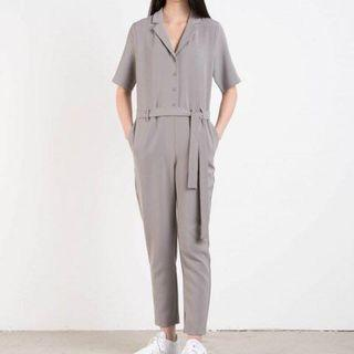 Oak and Fort Gray Jumpsuit