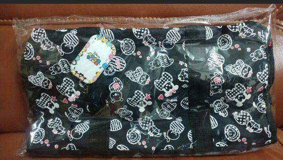 日本直送全新正版 Disney Tsum Tsum旅行袋48x25cm