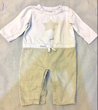 Chateau de Sable baby Long sleeved bodysuit 6-12mo