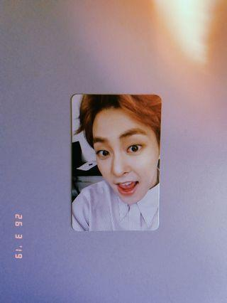 WTS EXO XIUMIN OFFICIAL PHOTOCARD