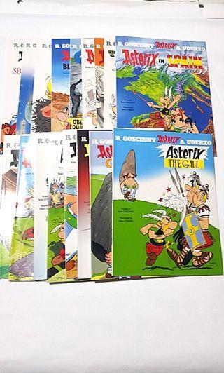 🚚 17x Asterix and Obelix albums