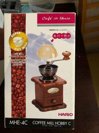 全新未用#HARIO MHE-4C# Coffee Mill Hobby C