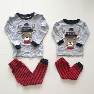 Carter's Christmas Pyjamas 6M
