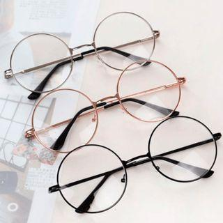 Black Clear Lens Glasses