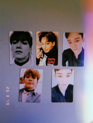 WTS EXO CHEN OFFICIAL PHOTOCARD