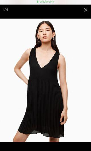 Aritzia Mathis Dress in Black Size Small