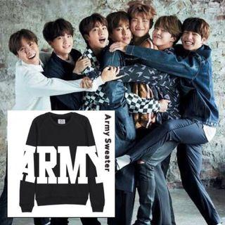 [NEW] Sweater BTS Army