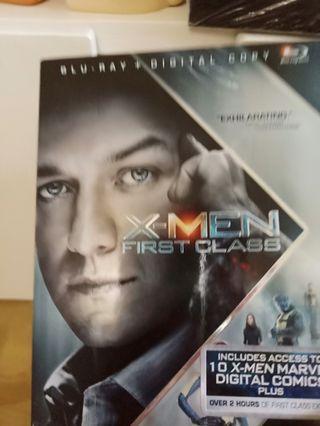 🚚 Blu Ray X Men First Class 2 disc set