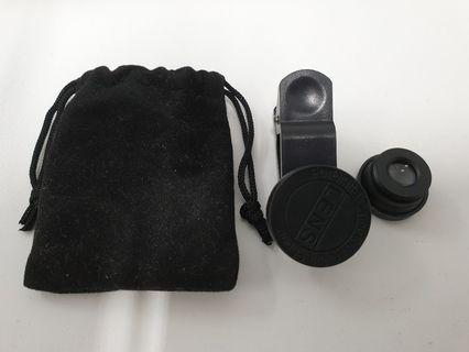 BN Fish-eye and micro lenses for HP