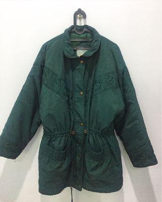#Superdeal Green Coat / Winter Jacket