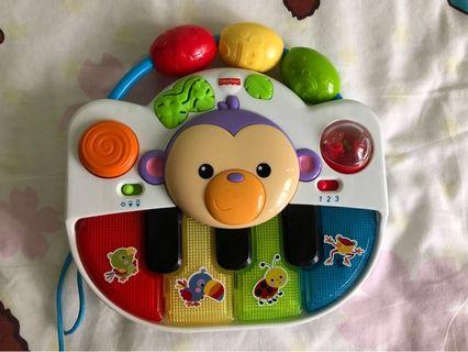 Fisher price 玩具琴