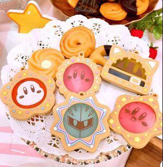 NEW! Japan Kirby Cookies Keychain