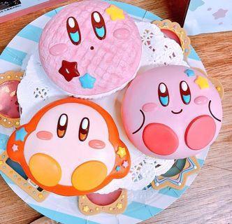 NEW! Japan Kirby Sweets Donut Squishy