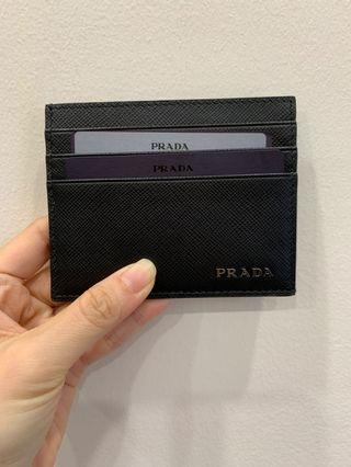 Prada card holder