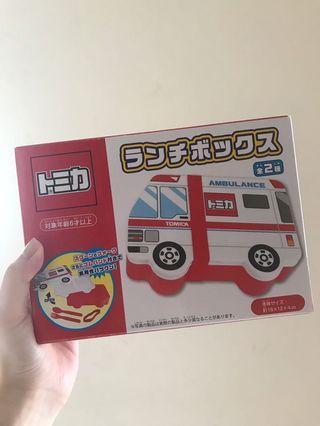 Tomica 救護車造型午餐盒 便當盒