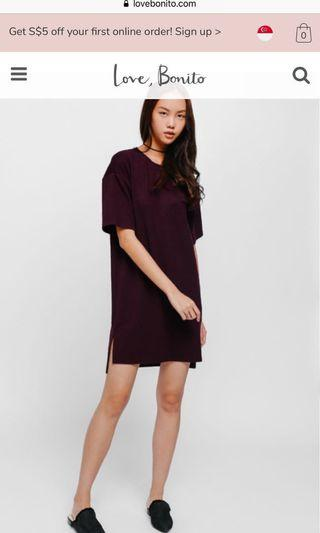 🚚 Love bonito Kiana Oversized T-shirt Dress