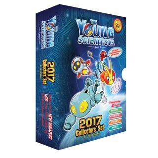 Young Scientists Level 4 collector set 2017 (Brand New)