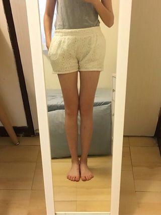 🚚 Mo jp 全蕾絲短褲