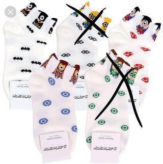 🚚 Cute MARVEL MINION Socks