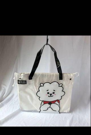 [PO] BT21 PVC with Canvas Tote Bag