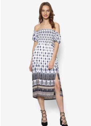 Zalora boho off shoulder dress
