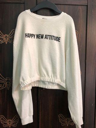 Sweater croptee