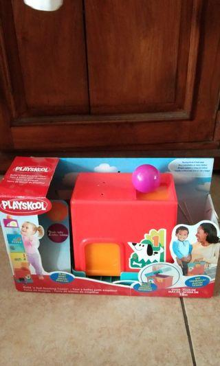 Playskool build and stacking tower