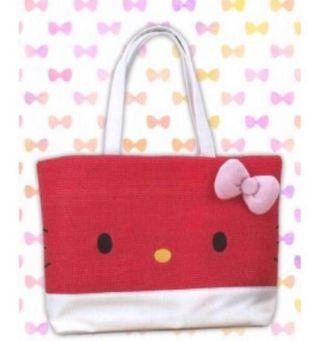 NEW! Japan Sanrio Hello Kitty Big Tote Bag